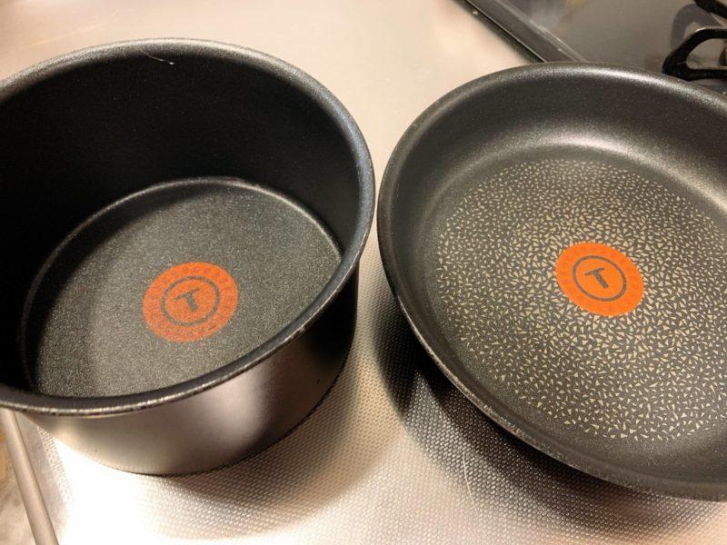 小鍋とフライパン