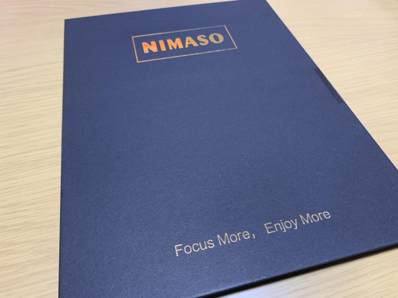 NIMASOのSurfacePro用ガラスフィルム