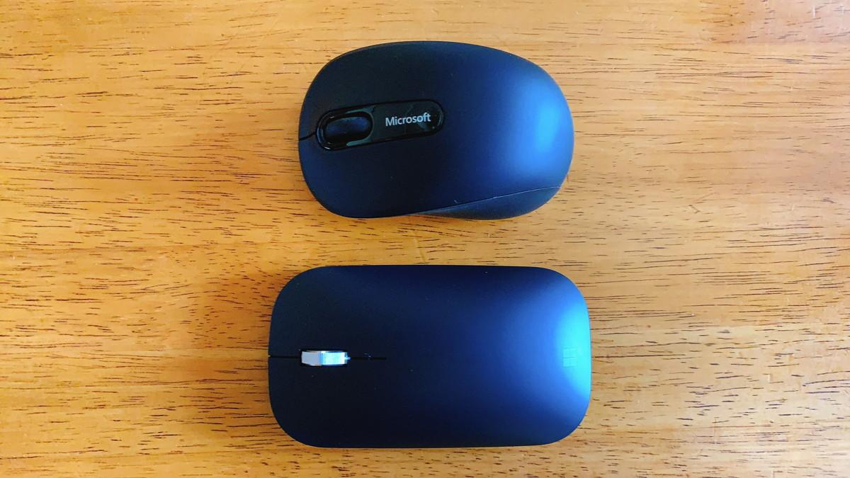 Bluetoothモバイルマウス3600とモダンモバイルマウス