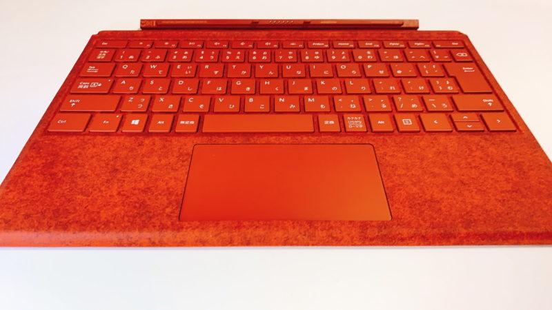 Surface Pro Sigunature タイプカバーの見た目